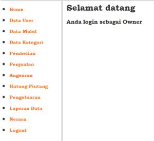 contoh menu utama
